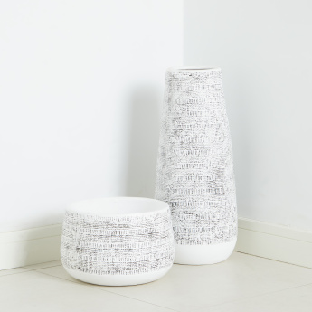 Ventoux Textured Planter