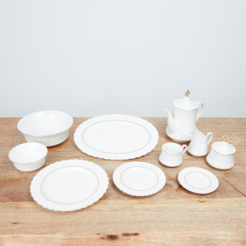 Enchanted Textured 47-Piece Dinner Set