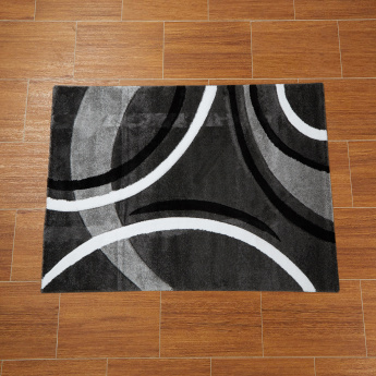 Malibu Textured and Printed Rug - 120x160 cms
