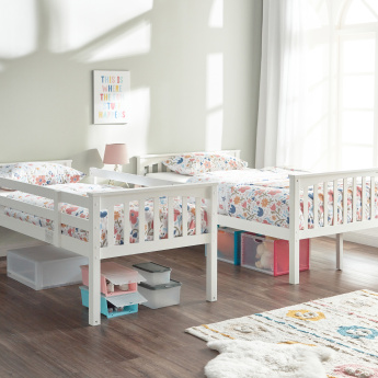 Taylor Panelled Single Bunk Bed - 128x212 cms