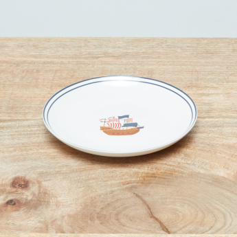 Frederick Big Coupe Plate - 23 cms
