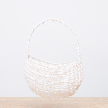 Decorative Pearl Detail Basket
