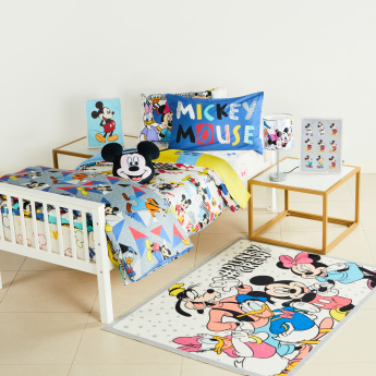 Mickey Mouse And Friends Printed Wall Canvas - 30x40 cms
