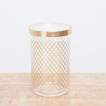 Applique Printed Storage Canister - 1 L
