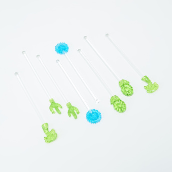 Tropical Swizzle Stick - Set of 8
