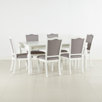 Durban 6-Seater Dining Table Set