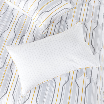 Kadin Striped 3-Piece Queen Comforter Set - 200x240 cms