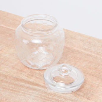 Textured Storage Jar - 1300 ml
