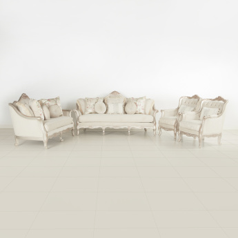 Carolina Printed 7-Seater Sofa Set