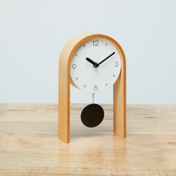 Ashley Table Clock with Pendulum