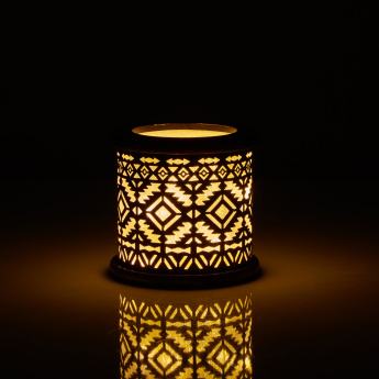 Lamentin LED Lantern with Cutout Detail