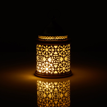 Melun LED Lantern with Cutout Detail