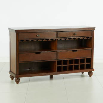 Cape 4-Drawer Bar Counter