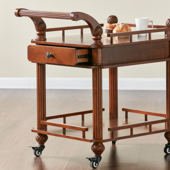 Cape 2-Tier Serving Trolley
