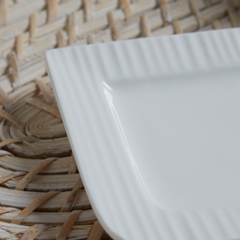 Ripple Square Appetizer Plate