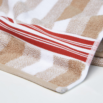 Pure Source Striped Hand Towel - 50x90 cms