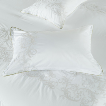 Cosetta Embroidered 3-Piece Super King Comforter Set - 250x260 cms