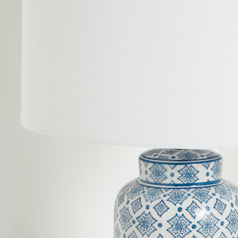 Scorpii Ceramic Table Lamp - 62 cms