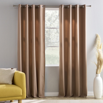 New Raymond Eyelet Curtain Pair - 132x240 cms