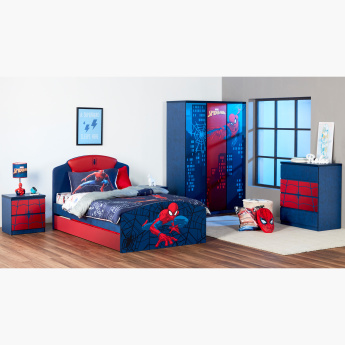 Disney Spider-Man Printed 2-Drawer Nightstand