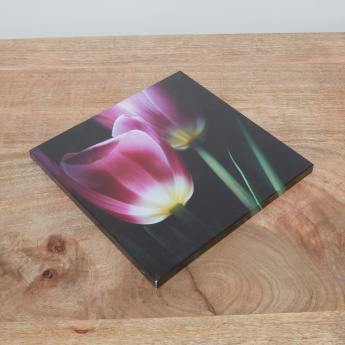 Mystic Tulips A Printed Canvas - 30x30 cms