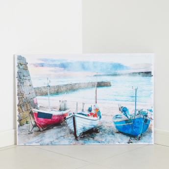 Boats Printed Canvas
