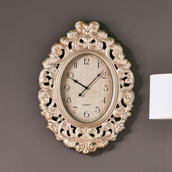 Novica Oval Wall Clock