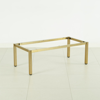Blend-X Coffee Table Brushed Frame