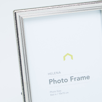 Helena Textured Rectangular Photo Frame - 4x6 inches