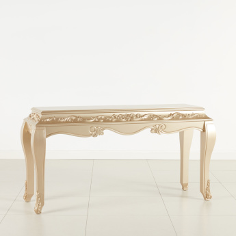 Grandeur Handcrafted Console Table with Mirror