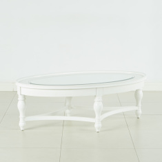 Durban Coffee Table with Mirror Top