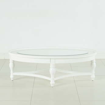 Durban Oval Shaped Coffee Table