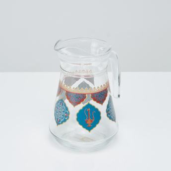 Arabian Jewel Arc Printed Jug - 1.3 L