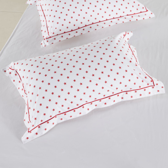 Stewart Stars Printed Oxford Pillowcase - Set of 2
