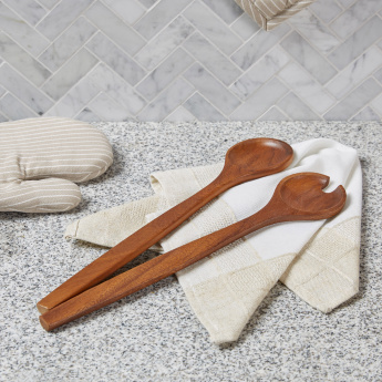 Mountain View 2-Piece Wooden Salad Servers