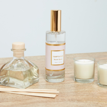 Temptation Candle and Reed Diffuser Set