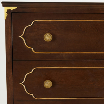Mughal Chest of 5-Drawers
