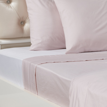 Eternity Luxe Full Flat Sheet - 180x270 cms