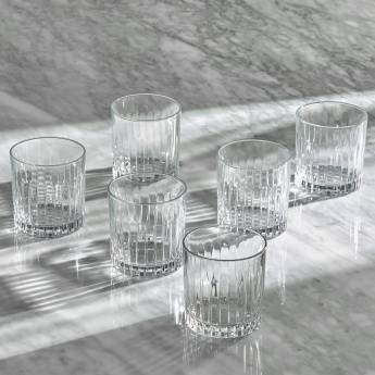 Timeless 6-Piece Double Old Fashioned Tumblers - 360 ml
