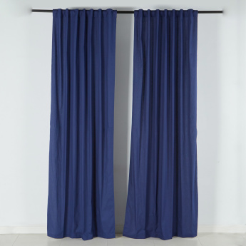 Jordan Unlined Curtain Pair - 140x300 cms