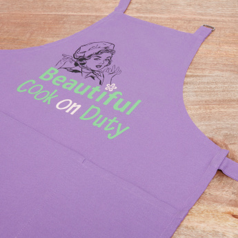 Beautiful Cook Printed Apron