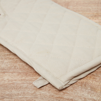 Top Quilted Chef Oven Mitten