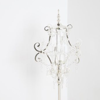 Jewelled Tall Candle Holder