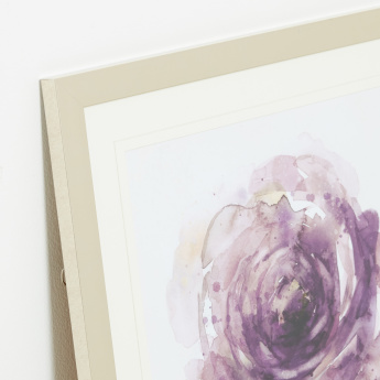 Plum Bloom Framed Wall Art