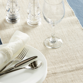 Florence Ribbed Table Runner - 33x120 cms