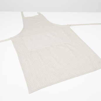 Twill Striped Apron