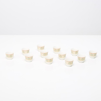 Serai 12-Piece Qahwa Cup Set - 60 ml