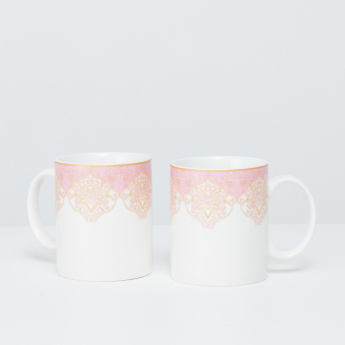 Persia Printed Mug - Set of 2