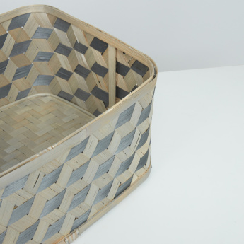 Victor Bamboo Storage Basket - 40x30x20 cms