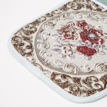 Majolika Embroidered Cutlery Holder